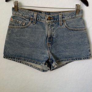 Levi's 511 Slim Fit Medium Wash Denim Jean Shorts